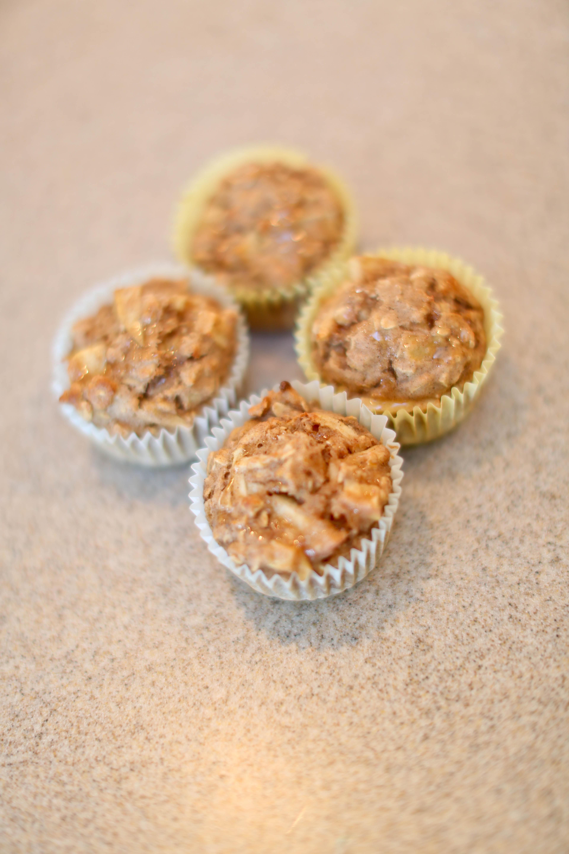 Oatmeal Banapple Muffins