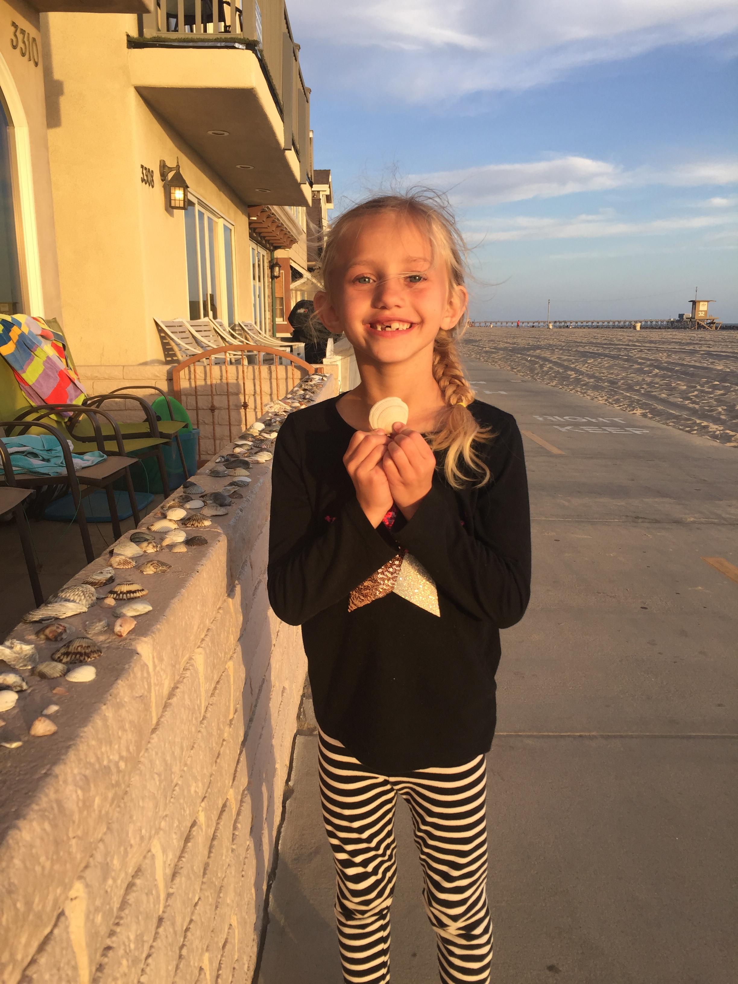 I bought a free sea shell