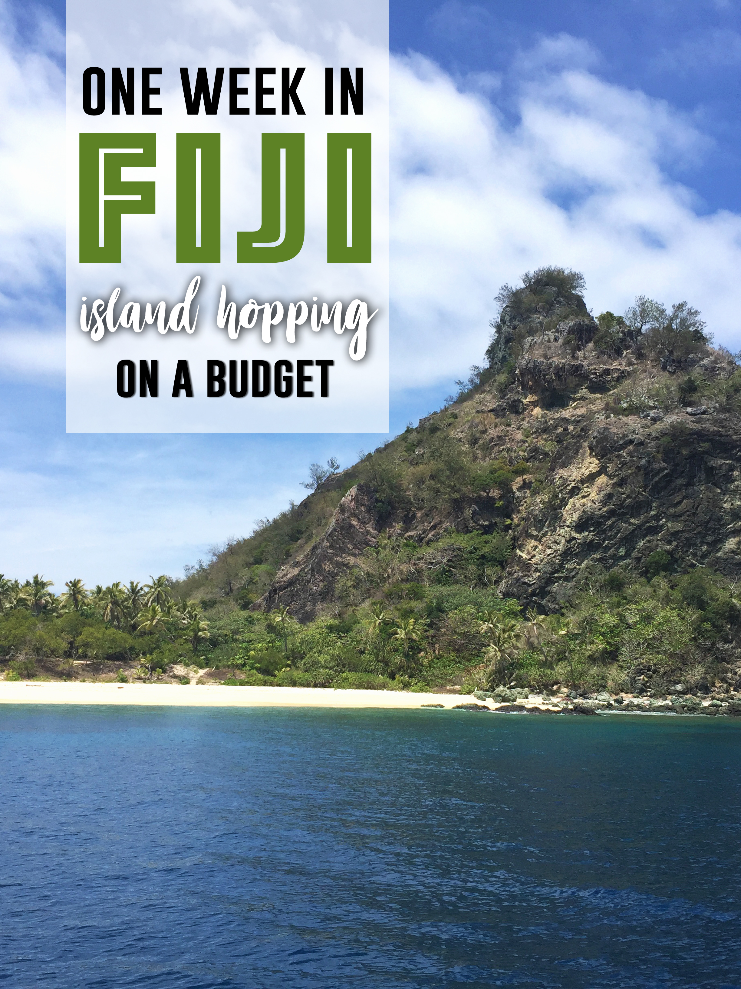 One Week in Fiji: Island Hopping on a Budget