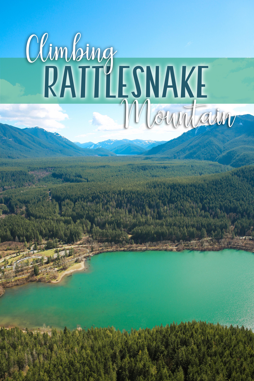 Climbing Rattlesnake Ridge