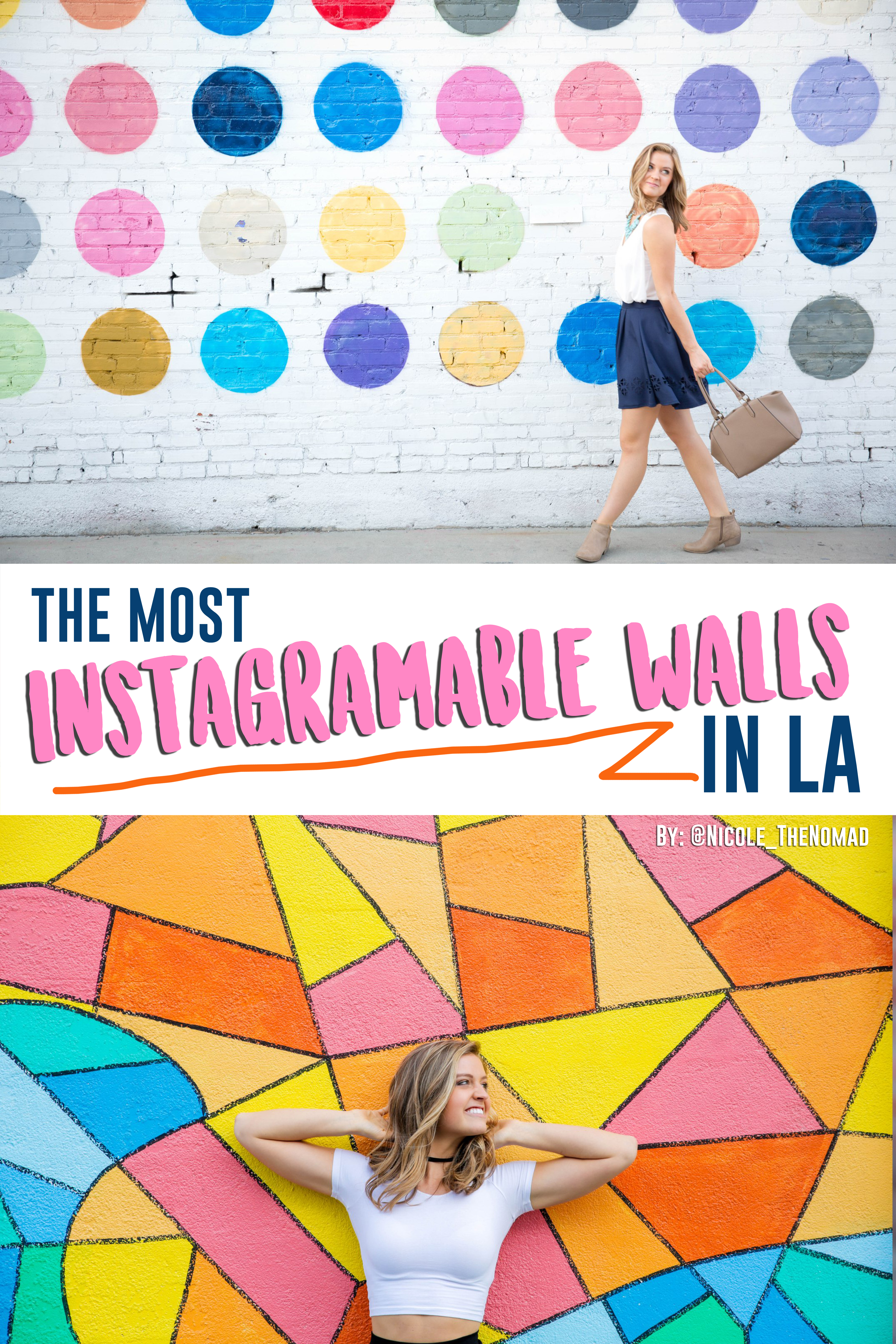 The Most Instagram-able Walls In LA