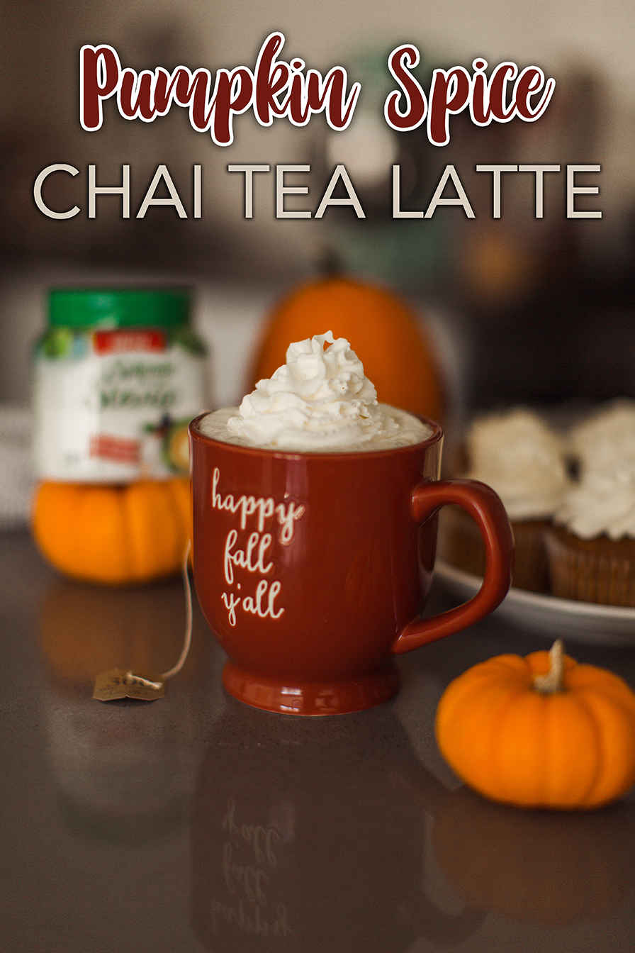 Pumpkin Spice Chai Tea Latte