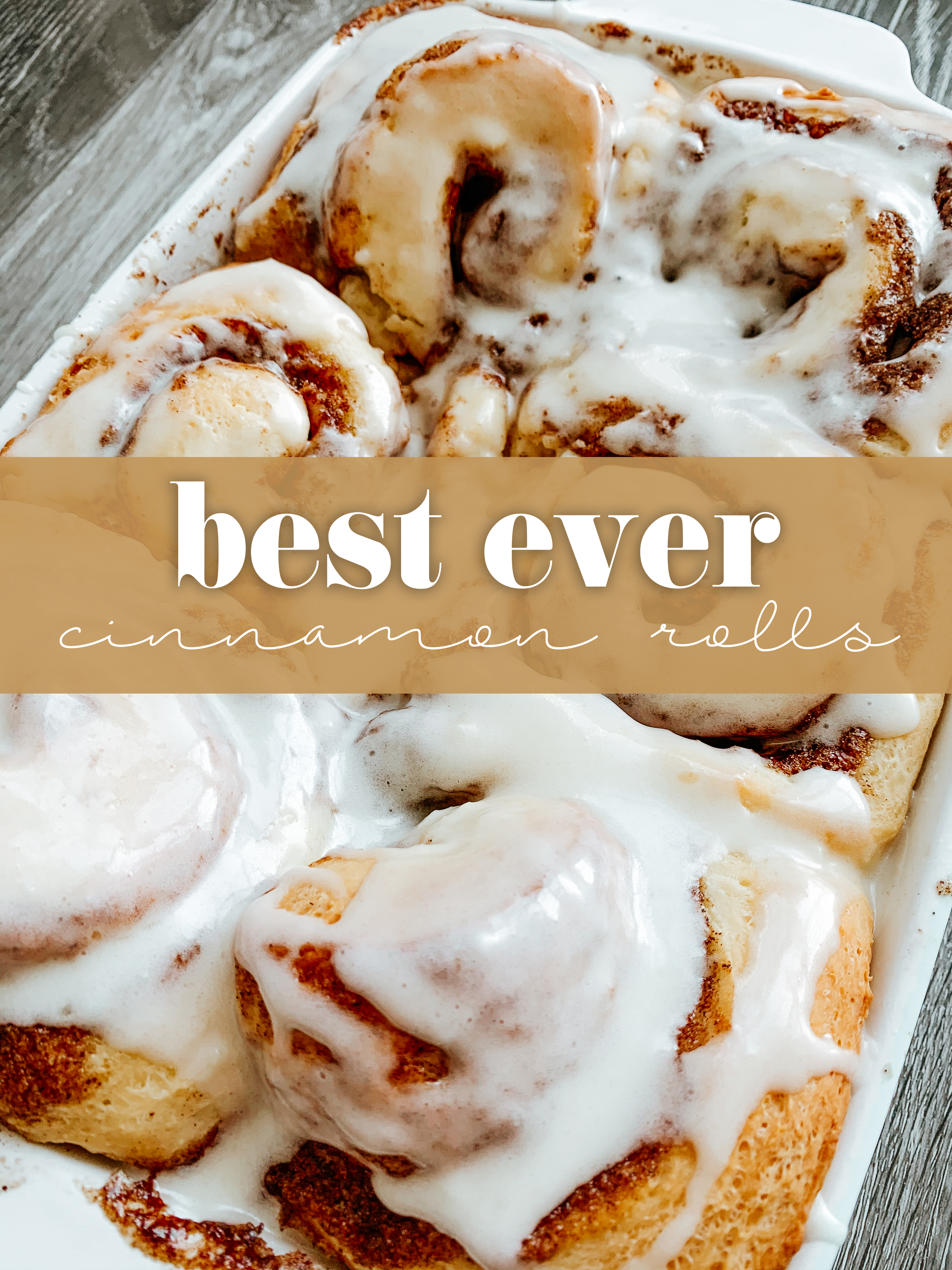 Best Ever Cinnamon Rolls Recipe